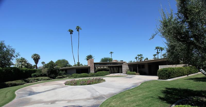 Frank Sinatra Home - Palm Springs - History's Homes