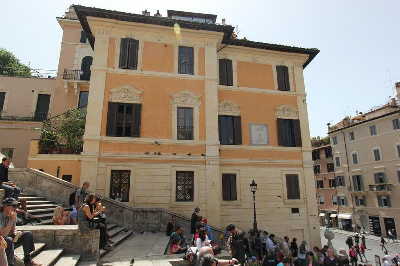 Keats-Shelley House Piazza di Spagna - Rome - History's Homes